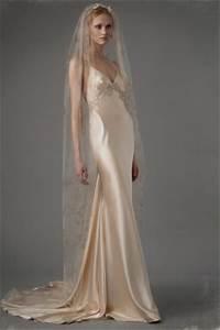 9039s style slip wedding dresses preowned wedding dresses With 90s wedding dress
