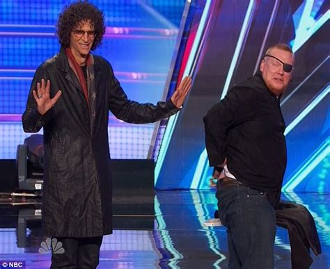 Howard Stern And Howie Mandel Take Stage On America's Got