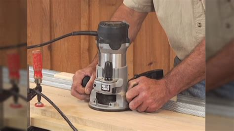 jointing   handheld router