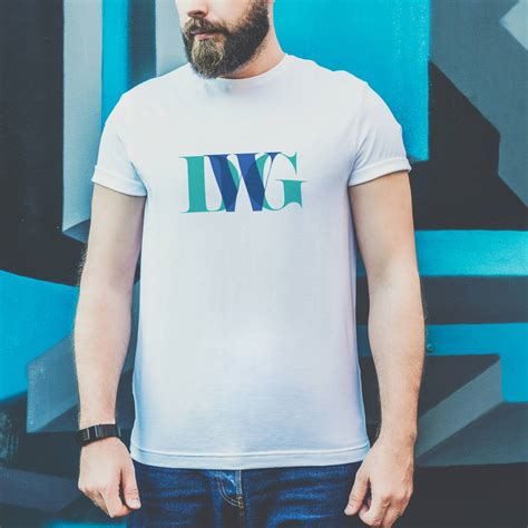 Personalised Men's Monogram T Shirt By Oakdene Designs | notonthehighstreet.com