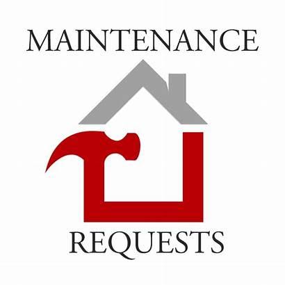 Maintenance Request Requests Rental Properties Button Clip