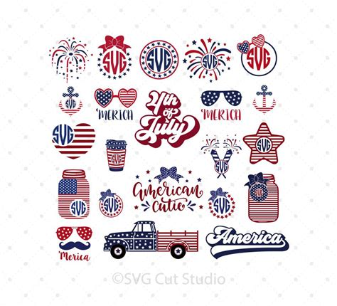 Where can i get free svg files for 4th of july? 4th of July SVG Cut files for Cricut and Silhouette - 4th ...