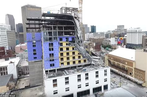 drone footage shows damage   orleans hard rock