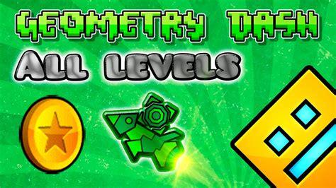 geometry dash  levels     coins part