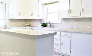 kitchen color ideas with cabinets how to make diy cast in place white concrete countertops