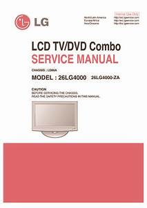 Lg 26lg4000 Chassis Ld86a  Service Manual  Repair Schematics