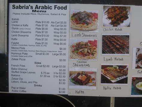cuisine menu food menu with picture