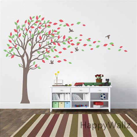 stickers mur chambre large tree wall stickers baby nursery tree wall decals