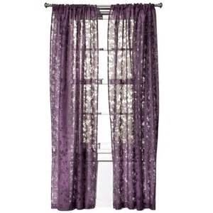 threshold botanical burnout sheer curtain panel target