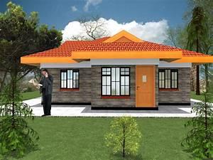 Modern, 2, Bedroom, House, Plans, Design