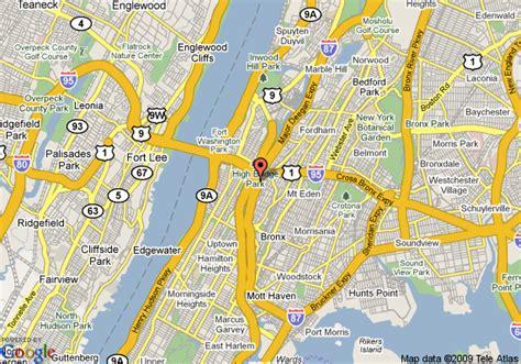 yankee stadium bronx ny map