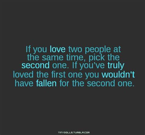 loving 2 persons quotes
