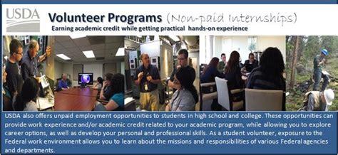 usda dm ohrm student employment opportunities