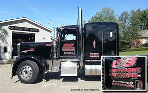 semi truck graphics door lettering ellwood city pa With semi truck lettering designs