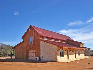 pole barns pole buildings construction from the original With barn home builders texas