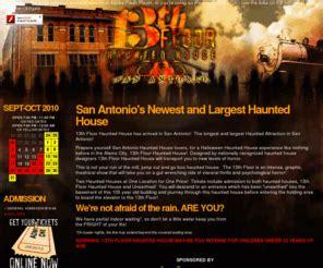 13th floor san antonio 13thfloorsa 13th floor haunted house in san antonio