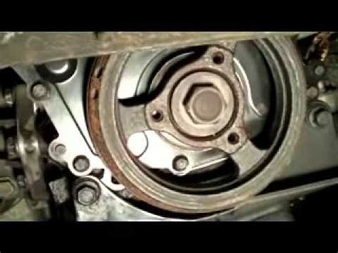 cavalier   water pump  timing chain replacement