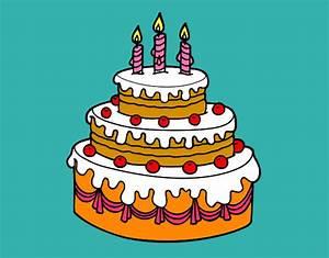 Dibujo de torta de Luz pintado por Vallejos en Dibujos net el día 07 05 12 a las 00:31:11