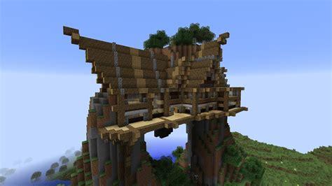minecraft  mountain house youtube