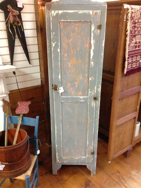 shabby chic rustic pantry linen cabinet agedn
