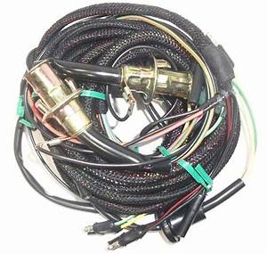 67 Mustang Tail Light Wiring Harness  W   Low Fuel Lamp