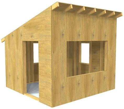 outdoor playhouse plans  kids  downloads