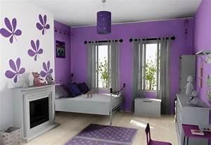 Coole Zimmer Deko : wohnzimmer lila gestalten 79 tolle deko ideen ~ Sanjose-hotels-ca.com Haus und Dekorationen