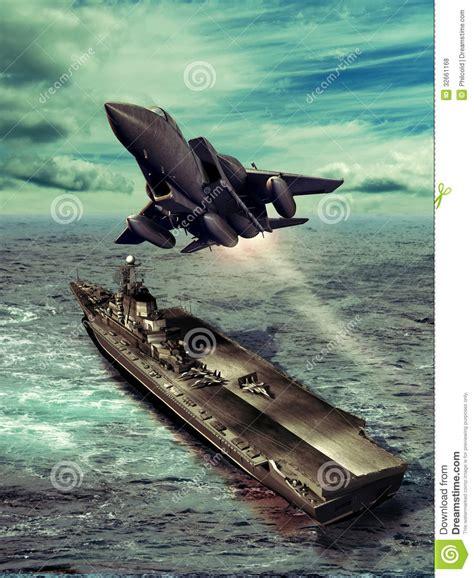 Aircraft Carrier Royalty Free Stock Photos