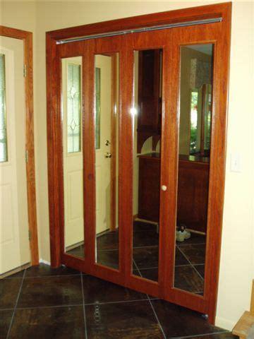 Mirror Folding Closet Doors by Bifold Quot Closet Door Quot Mirrored Bifold Bifold Door With