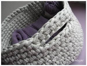 Corbeille Au Crochet : corbeille tricot au crochet photo de 4 mes tricots un atelier la montagne ~ Preciouscoupons.com Idées de Décoration