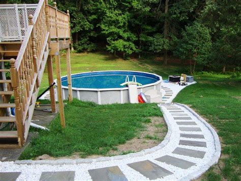 above ground pool deck designs pictures above ground pool deck plans pictures to pin on