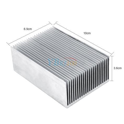 led heat sink bar 100x69x36mm aluminum heatsink heat sink fin