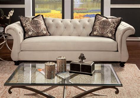 antionette sofa set ivory sm