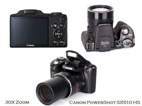 zoom sx510 powershot canon hs cameras camera snap shoot point