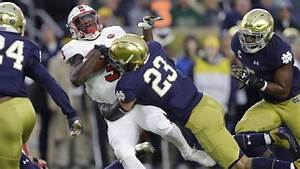 Notre Dame 99 To 2 No 23 Drue Tranquill Linebacker And