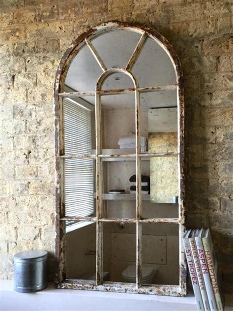 arch vintage architectural window mirror vintage