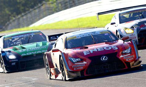 lexus racing team lexus super gt round 6