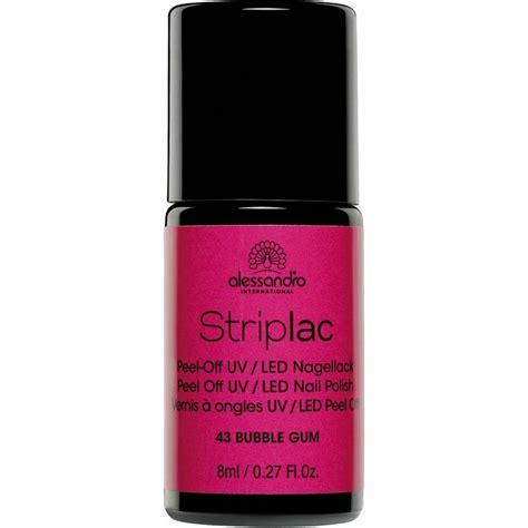 led l nail polish striplac peel off uv led nail polish bubble gum 43