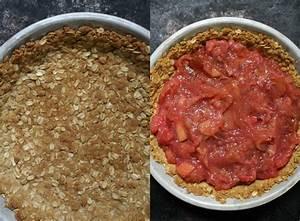 Rhubarb Custard Pie with an Oatmeal Cookie Crust - Dinner ...