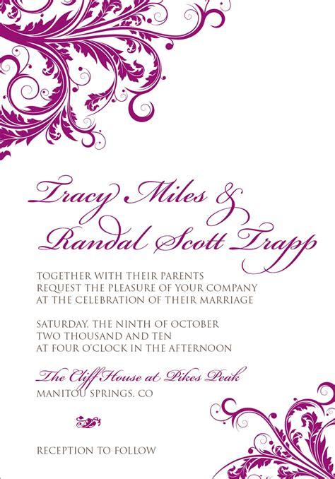 design wedding invitations 7 best images of wedding border designs wedding border
