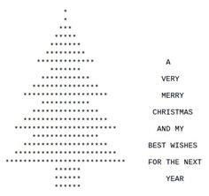 ascii christmas tree ascii tree ascii text tree