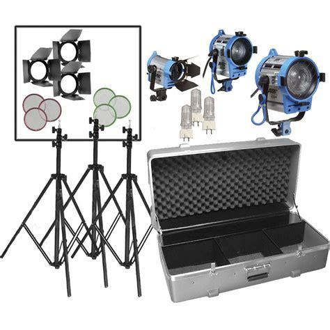 arri light kit arri compact fresnel three light kit lk 0005642 b h photo
