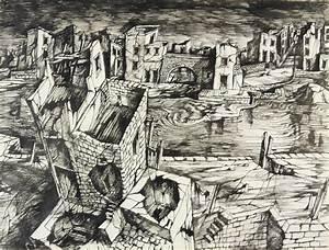 Destroyed City Drawing | www.pixshark.com - Images ...