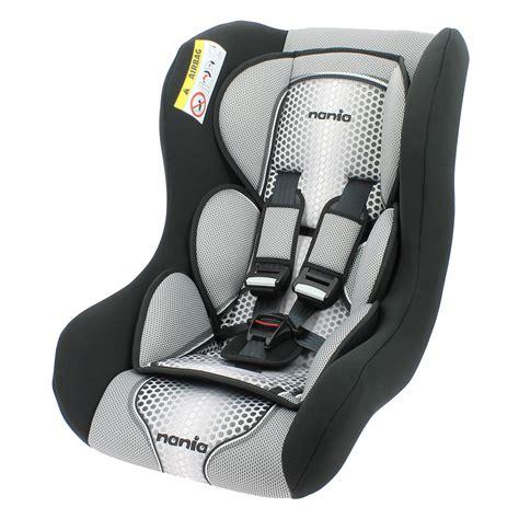 siege auto confortable siège auto trio comfort gris groupe 0 1 2 de nania sur