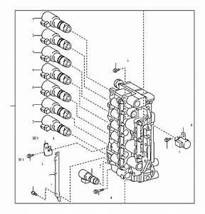 Toyota Rav4 Automatic Transmission Control Solenoid  Solenoid  Line  Valve  Solenoid