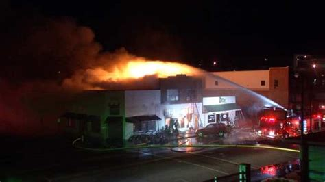 sand springs couple rescued  downtown business fire