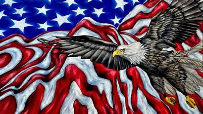 Eagle Flag American Bald Symbols Desktop Pc