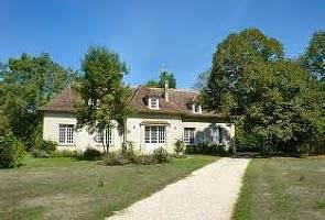 le chalet du moulin blanc house with pool bordering the dordogne river 13102