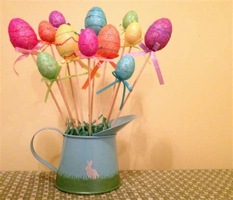 easter egg decorations craft tutorial dollar store easter egg bouquet 187 dollar store crafts