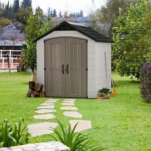 Abri Jardin Keter : abri de jardin en r sine 5 1m montfort 757 avec plancher ~ Edinachiropracticcenter.com Idées de Décoration